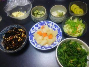 断食2019準備期間食事